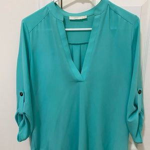 Blue/green blouse